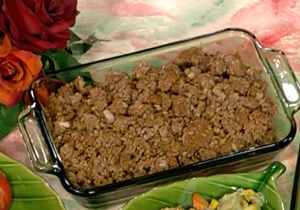 Dinner Crumbles - ground beef substitute